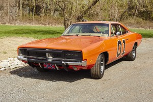 Dodge Chargers, 'Generale Lee' di Hazzard (ANSA)