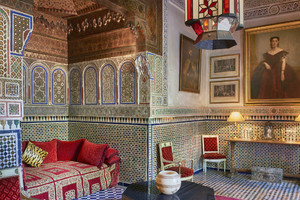 CREDIT Inside Marrakech: Enchanting Homes and Gardens' (Rizzoli New York) di Meryanne Loum-Martin (ANSA)