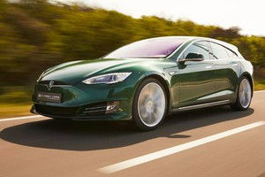 Tesla Model S Shooting Brake (ANSA)