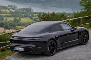 Porsche Taycan Turbo S - Photo: Giulio d'Adamo (ANSA)