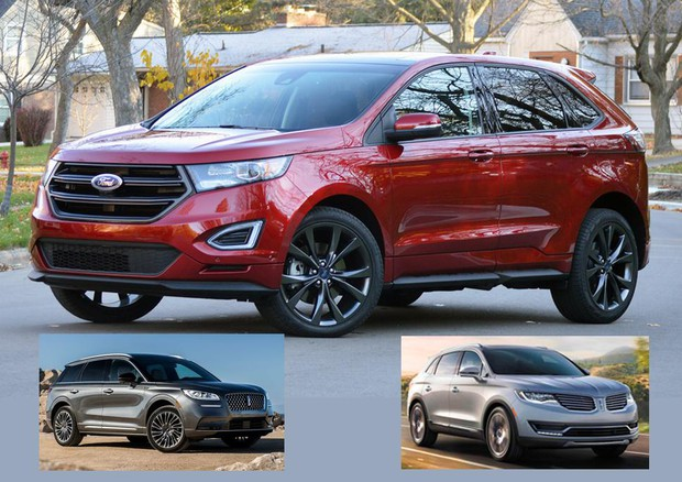 Ford richiama per problemi ai freni suv Edge e Lincoln MKX © Ford US Media