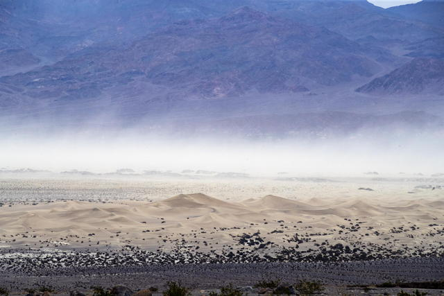 54,4 degrees measured in the Death Valley © Ansa