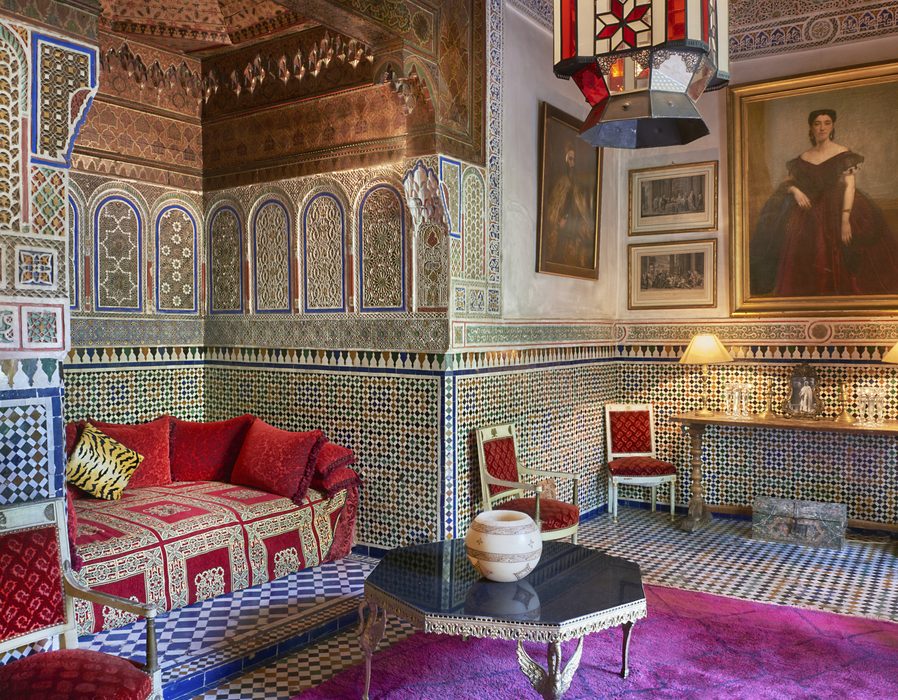 CREDIT Inside Marrakech: Enchanting Homes and Gardens' (Rizzoli New York) di Meryanne Loum-Martin © Ansa