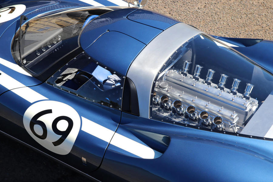 Ecurie Ecosse LM69, moderne tecnologie sotto decal d'epoca © Ansa